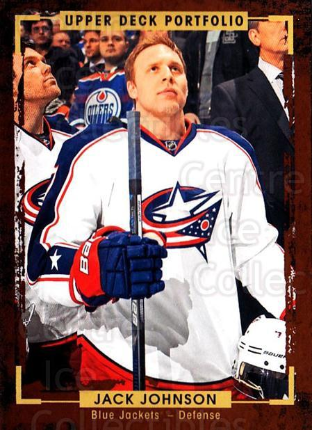 2015-16 Upper Deck Portfolio #23 Jack Johnson<br/>5 In Stock - $1.00 each - <a href=https://centericecollectibles.foxycart.com/cart?name=2015-16%20Upper%20Deck%20Portfolio%20%2323%20Jack%20Johnson...&quantity_max=5&price=$1.00&code=704897 class=foxycart> Buy it now! </a>