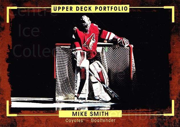 2015-16 Upper Deck Portfolio #25 Mike Smith<br/>5 In Stock - $1.00 each - <a href=https://centericecollectibles.foxycart.com/cart?name=2015-16%20Upper%20Deck%20Portfolio%20%2325%20Mike%20Smith...&quantity_max=5&price=$1.00&code=704899 class=foxycart> Buy it now! </a>