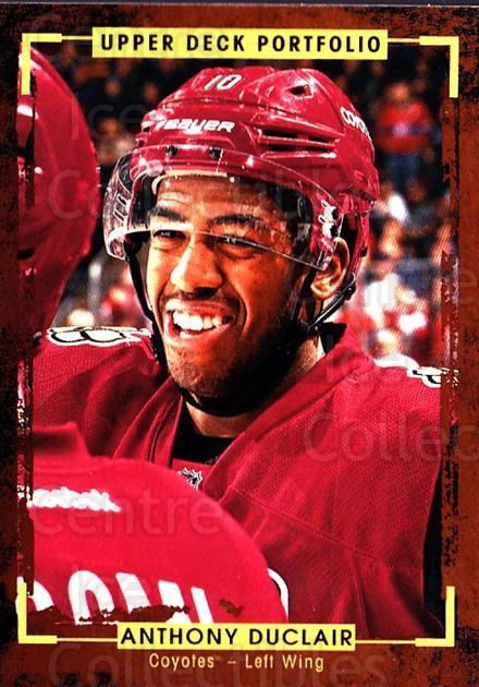 2015-16 Upper Deck Portfolio #34 Anthony Duclair<br/>5 In Stock - $1.00 each - <a href=https://centericecollectibles.foxycart.com/cart?name=2015-16%20Upper%20Deck%20Portfolio%20%2334%20Anthony%20Duclair...&quantity_max=5&price=$1.00&code=704908 class=foxycart> Buy it now! </a>