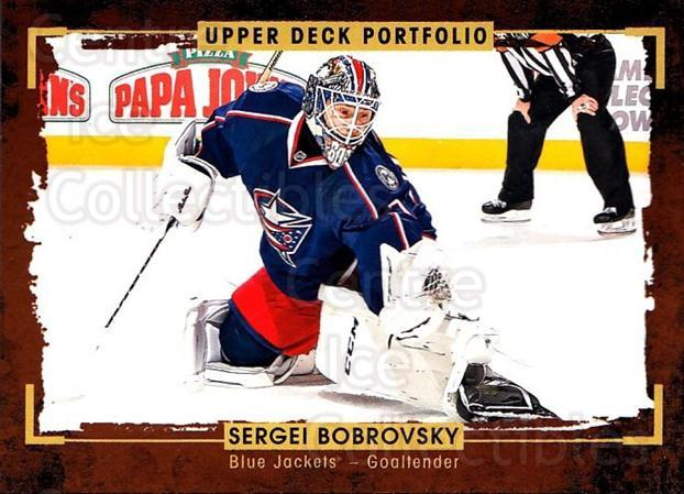 2015-16 Upper Deck Portfolio #39 Sergei Bobrovsky<br/>4 In Stock - $1.00 each - <a href=https://centericecollectibles.foxycart.com/cart?name=2015-16%20Upper%20Deck%20Portfolio%20%2339%20Sergei%20Bobrovsk...&quantity_max=4&price=$1.00&code=704913 class=foxycart> Buy it now! </a>