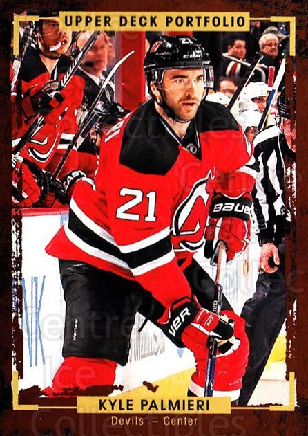 2015-16 Upper Deck Portfolio #44 Kyle Palmieri<br/>5 In Stock - $1.00 each - <a href=https://centericecollectibles.foxycart.com/cart?name=2015-16%20Upper%20Deck%20Portfolio%20%2344%20Kyle%20Palmieri...&quantity_max=5&price=$1.00&code=704918 class=foxycart> Buy it now! </a>