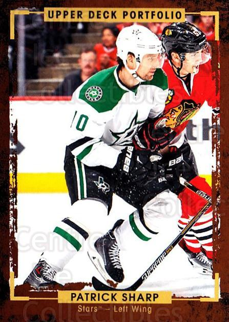2015-16 Upper Deck Portfolio #45 Patrick Sharp<br/>5 In Stock - $1.00 each - <a href=https://centericecollectibles.foxycart.com/cart?name=2015-16%20Upper%20Deck%20Portfolio%20%2345%20Patrick%20Sharp...&quantity_max=5&price=$1.00&code=704919 class=foxycart> Buy it now! </a>
