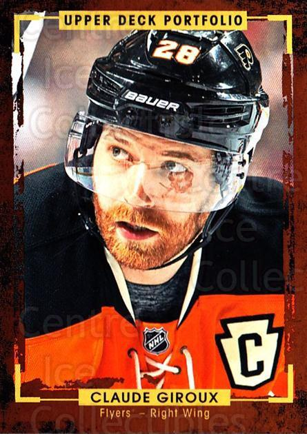 2015-16 Upper Deck Portfolio #49 Claude Giroux<br/>3 In Stock - $1.00 each - <a href=https://centericecollectibles.foxycart.com/cart?name=2015-16%20Upper%20Deck%20Portfolio%20%2349%20Claude%20Giroux...&quantity_max=3&price=$1.00&code=704923 class=foxycart> Buy it now! </a>