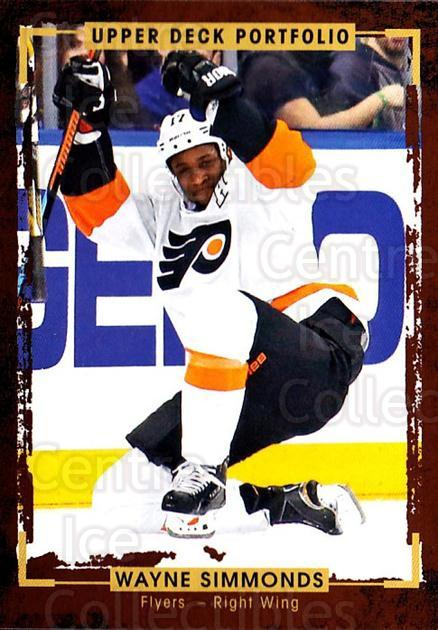 2015-16 Upper Deck Portfolio #50 Wayne Simmonds<br/>5 In Stock - $1.00 each - <a href=https://centericecollectibles.foxycart.com/cart?name=2015-16%20Upper%20Deck%20Portfolio%20%2350%20Wayne%20Simmonds...&quantity_max=5&price=$1.00&code=704924 class=foxycart> Buy it now! </a>