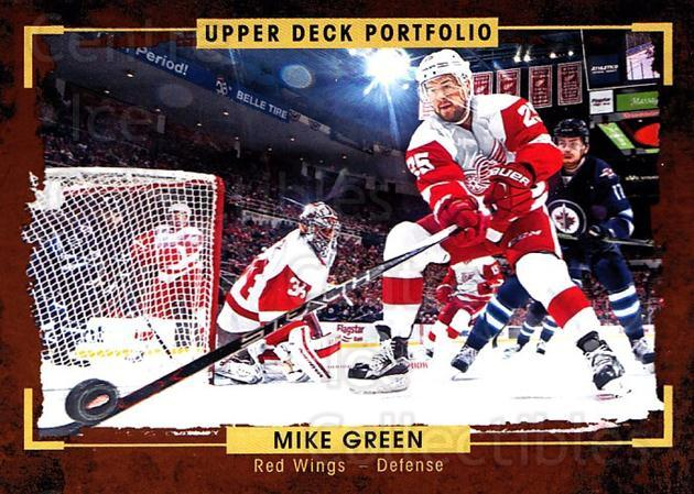 2015-16 Upper Deck Portfolio #59 Mike Green<br/>4 In Stock - $1.00 each - <a href=https://centericecollectibles.foxycart.com/cart?name=2015-16%20Upper%20Deck%20Portfolio%20%2359%20Mike%20Green...&quantity_max=4&price=$1.00&code=704933 class=foxycart> Buy it now! </a>