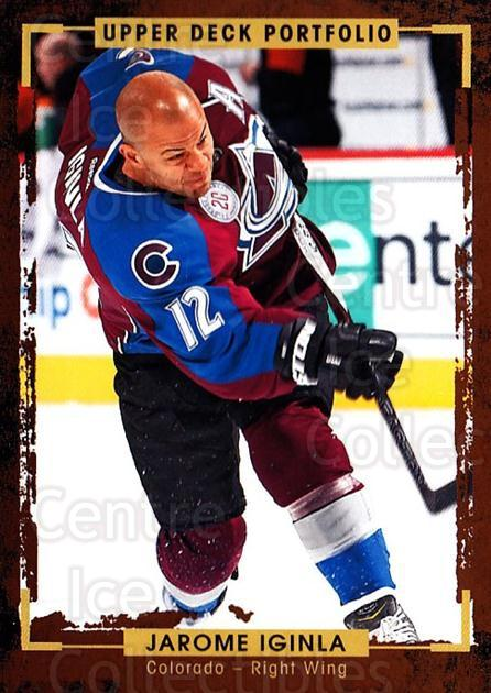 2015-16 Upper Deck Portfolio #62 Jarome Iginla<br/>5 In Stock - $1.00 each - <a href=https://centericecollectibles.foxycart.com/cart?name=2015-16%20Upper%20Deck%20Portfolio%20%2362%20Jarome%20Iginla...&quantity_max=5&price=$1.00&code=704936 class=foxycart> Buy it now! </a>