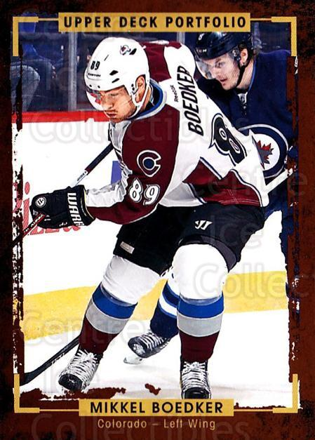 2015-16 Upper Deck Portfolio #69 Mikkel Boedker<br/>5 In Stock - $1.00 each - <a href=https://centericecollectibles.foxycart.com/cart?name=2015-16%20Upper%20Deck%20Portfolio%20%2369%20Mikkel%20Boedker...&quantity_max=5&price=$1.00&code=704943 class=foxycart> Buy it now! </a>