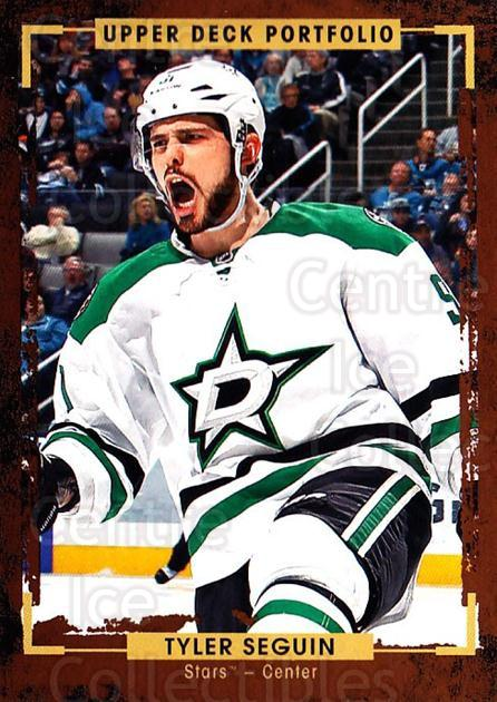 2015-16 Upper Deck Portfolio #77 Tyler Seguin<br/>5 In Stock - $1.00 each - <a href=https://centericecollectibles.foxycart.com/cart?name=2015-16%20Upper%20Deck%20Portfolio%20%2377%20Tyler%20Seguin...&quantity_max=5&price=$1.00&code=704951 class=foxycart> Buy it now! </a>
