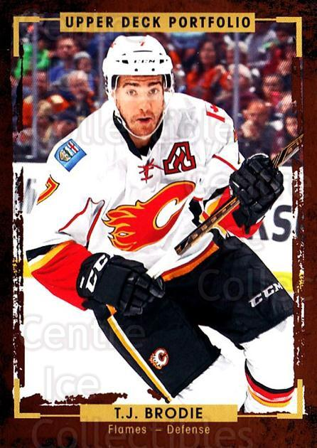 2015-16 Upper Deck Portfolio #83 TJ Brodie<br/>5 In Stock - $1.00 each - <a href=https://centericecollectibles.foxycart.com/cart?name=2015-16%20Upper%20Deck%20Portfolio%20%2383%20TJ%20Brodie...&quantity_max=5&price=$1.00&code=704957 class=foxycart> Buy it now! </a>