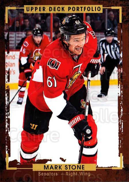 2015-16 Upper Deck Portfolio #88 Mark Stone<br/>5 In Stock - $1.00 each - <a href=https://centericecollectibles.foxycart.com/cart?name=2015-16%20Upper%20Deck%20Portfolio%20%2388%20Mark%20Stone...&quantity_max=5&price=$1.00&code=704962 class=foxycart> Buy it now! </a>