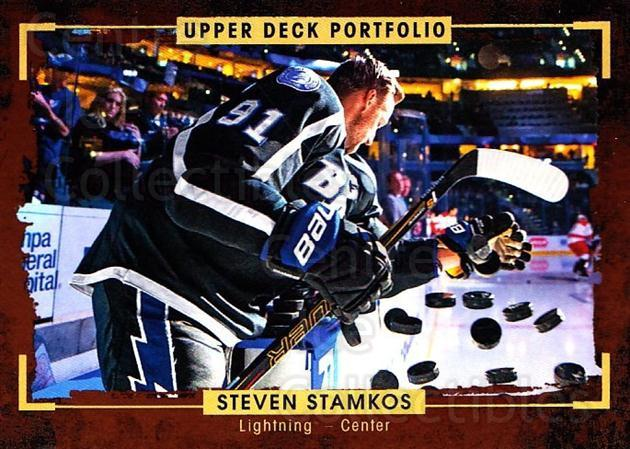 2015-16 Upper Deck Portfolio #89 Steven Stamkos<br/>5 In Stock - $2.00 each - <a href=https://centericecollectibles.foxycart.com/cart?name=2015-16%20Upper%20Deck%20Portfolio%20%2389%20Steven%20Stamkos...&quantity_max=5&price=$2.00&code=704963 class=foxycart> Buy it now! </a>