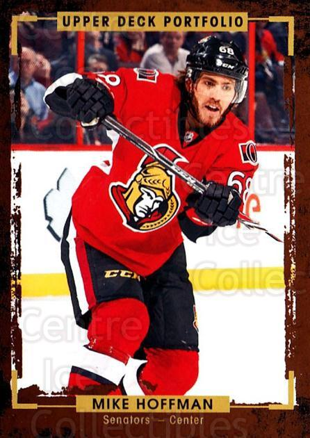 2015-16 Upper Deck Portfolio #94 Mike Hoffman<br/>5 In Stock - $1.00 each - <a href=https://centericecollectibles.foxycart.com/cart?name=2015-16%20Upper%20Deck%20Portfolio%20%2394%20Mike%20Hoffman...&quantity_max=5&price=$1.00&code=704968 class=foxycart> Buy it now! </a>