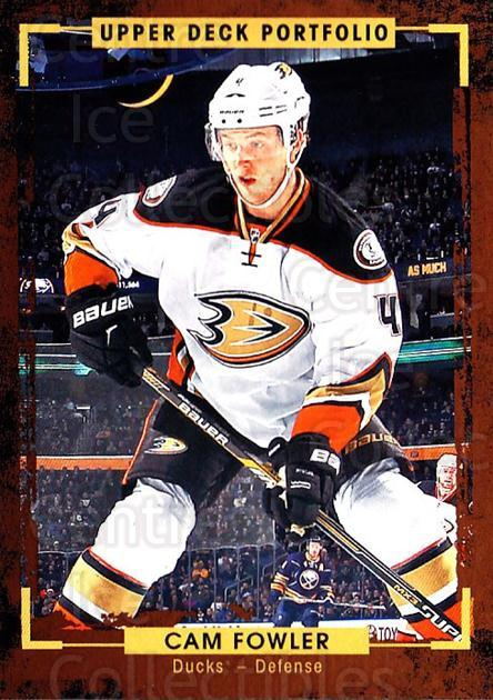 2015-16 Upper Deck Portfolio #101 Cam Fowler<br/>5 In Stock - $1.00 each - <a href=https://centericecollectibles.foxycart.com/cart?name=2015-16%20Upper%20Deck%20Portfolio%20%23101%20Cam%20Fowler...&quantity_max=5&price=$1.00&code=704975 class=foxycart> Buy it now! </a>