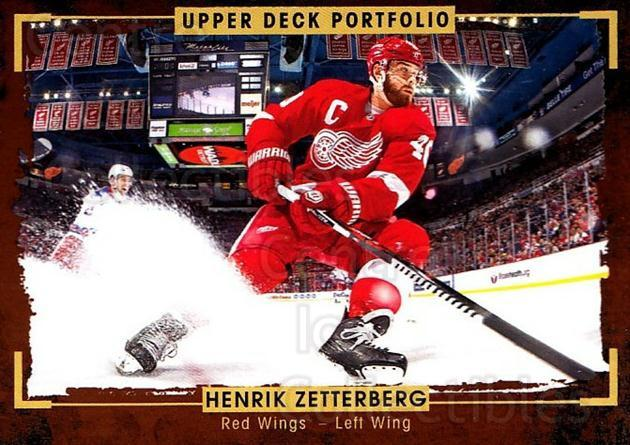 2015-16 Upper Deck Portfolio #105 Henrik Zetterberg<br/>3 In Stock - $2.00 each - <a href=https://centericecollectibles.foxycart.com/cart?name=2015-16%20Upper%20Deck%20Portfolio%20%23105%20Henrik%20Zetterbe...&quantity_max=3&price=$2.00&code=704979 class=foxycart> Buy it now! </a>