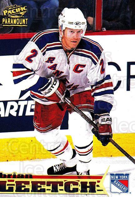 1998-99 Paramount #155 Brian Leetch<br/>5 In Stock - $1.00 each - <a href=https://centericecollectibles.foxycart.com/cart?name=1998-99%20Paramount%20%23155%20Brian%20Leetch...&quantity_max=5&price=$1.00&code=70497 class=foxycart> Buy it now! </a>