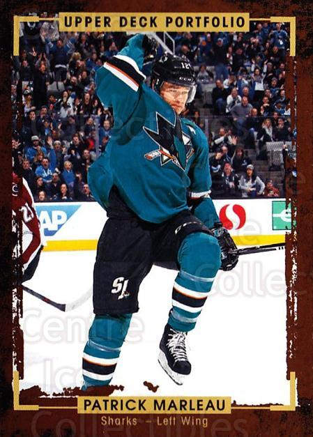 2015-16 Upper Deck Portfolio #106 Patrick Marleau<br/>5 In Stock - $1.00 each - <a href=https://centericecollectibles.foxycart.com/cart?name=2015-16%20Upper%20Deck%20Portfolio%20%23106%20Patrick%20Marleau...&quantity_max=5&price=$1.00&code=704980 class=foxycart> Buy it now! </a>
