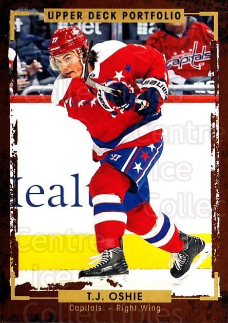 2015-16 Upper Deck Portfolio #107 TJ Oshie<br/>5 In Stock - $1.00 each - <a href=https://centericecollectibles.foxycart.com/cart?name=2015-16%20Upper%20Deck%20Portfolio%20%23107%20TJ%20Oshie...&quantity_max=5&price=$1.00&code=704981 class=foxycart> Buy it now! </a>