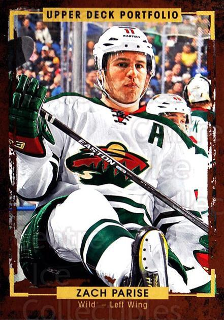 2015-16 Upper Deck Portfolio #113 Zach Parise<br/>5 In Stock - $1.00 each - <a href=https://centericecollectibles.foxycart.com/cart?name=2015-16%20Upper%20Deck%20Portfolio%20%23113%20Zach%20Parise...&quantity_max=5&price=$1.00&code=704987 class=foxycart> Buy it now! </a>
