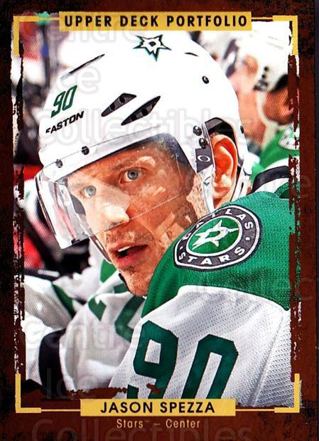 2015-16 Upper Deck Portfolio #117 Jason Spezza<br/>5 In Stock - $1.00 each - <a href=https://centericecollectibles.foxycart.com/cart?name=2015-16%20Upper%20Deck%20Portfolio%20%23117%20Jason%20Spezza...&quantity_max=5&price=$1.00&code=704991 class=foxycart> Buy it now! </a>