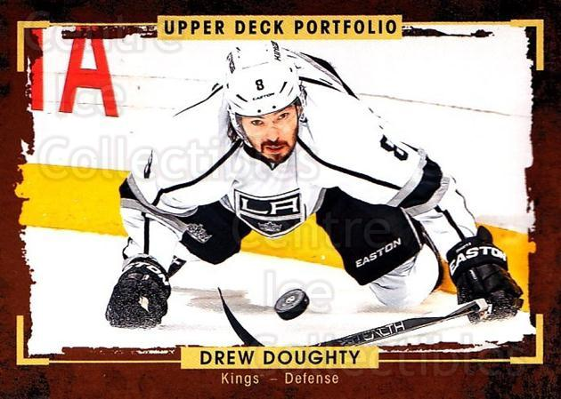 2015-16 Upper Deck Portfolio #119 Drew Doughty<br/>3 In Stock - $1.00 each - <a href=https://centericecollectibles.foxycart.com/cart?name=2015-16%20Upper%20Deck%20Portfolio%20%23119%20Drew%20Doughty...&quantity_max=3&price=$1.00&code=704993 class=foxycart> Buy it now! </a>