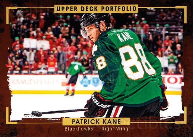 2015-16 Upper Deck Portfolio #123 Patrick Kane<br/>4 In Stock - $2.00 each - <a href=https://centericecollectibles.foxycart.com/cart?name=2015-16%20Upper%20Deck%20Portfolio%20%23123%20Patrick%20Kane...&quantity_max=4&price=$2.00&code=704997 class=foxycart> Buy it now! </a>