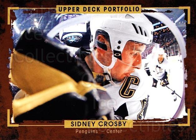 2015-16 Upper Deck Portfolio #127 Sidney Crosby<br/>3 In Stock - $5.00 each - <a href=https://centericecollectibles.foxycart.com/cart?name=2015-16%20Upper%20Deck%20Portfolio%20%23127%20Sidney%20Crosby...&quantity_max=3&price=$5.00&code=705001 class=foxycart> Buy it now! </a>