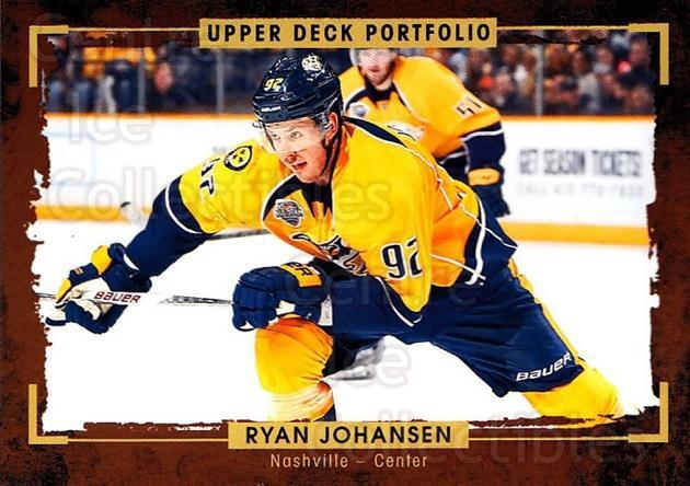 2015-16 Upper Deck Portfolio #131 Ryan Johansen<br/>5 In Stock - $1.00 each - <a href=https://centericecollectibles.foxycart.com/cart?name=2015-16%20Upper%20Deck%20Portfolio%20%23131%20Ryan%20Johansen...&quantity_max=5&price=$1.00&code=705005 class=foxycart> Buy it now! </a>