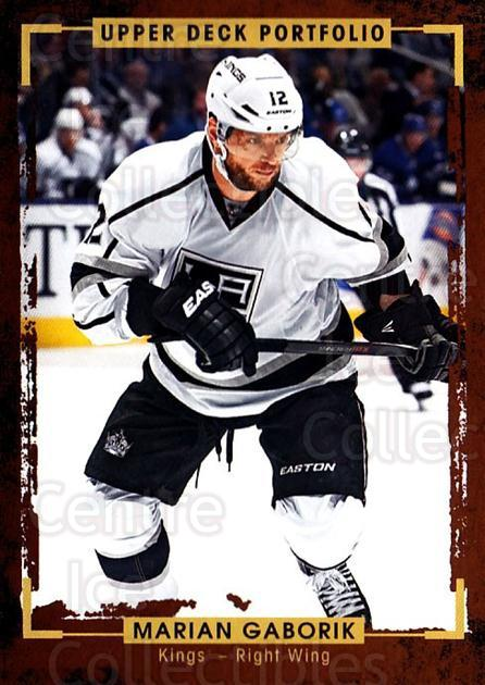 2015-16 Upper Deck Portfolio #137 Marian Gaborik<br/>5 In Stock - $1.00 each - <a href=https://centericecollectibles.foxycart.com/cart?name=2015-16%20Upper%20Deck%20Portfolio%20%23137%20Marian%20Gaborik...&quantity_max=5&price=$1.00&code=705011 class=foxycart> Buy it now! </a>