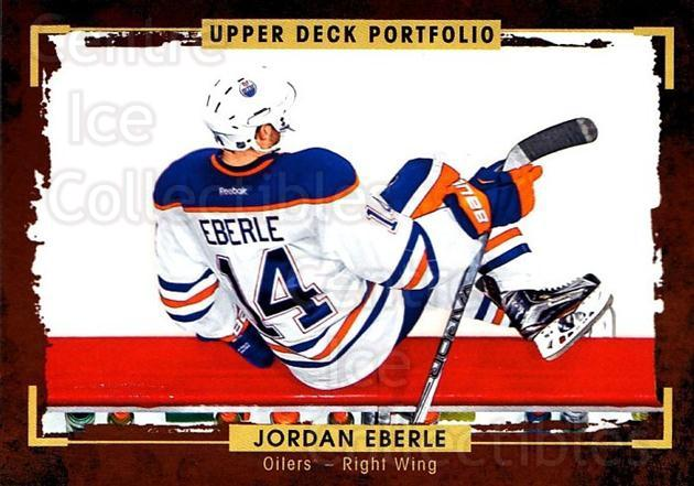 2015-16 Upper Deck Portfolio #138 Jordan Eberle<br/>5 In Stock - $1.00 each - <a href=https://centericecollectibles.foxycart.com/cart?name=2015-16%20Upper%20Deck%20Portfolio%20%23138%20Jordan%20Eberle...&quantity_max=5&price=$1.00&code=705012 class=foxycart> Buy it now! </a>