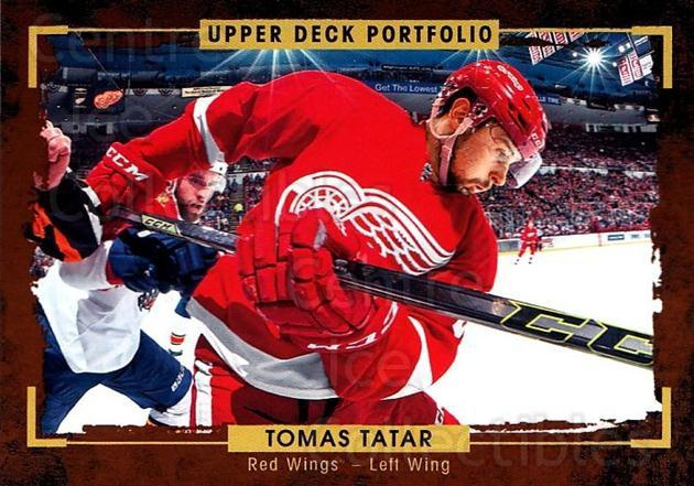 2015-16 Upper Deck Portfolio #144 Tomas Tatar<br/>5 In Stock - $1.00 each - <a href=https://centericecollectibles.foxycart.com/cart?name=2015-16%20Upper%20Deck%20Portfolio%20%23144%20Tomas%20Tatar...&quantity_max=5&price=$1.00&code=705018 class=foxycart> Buy it now! </a>