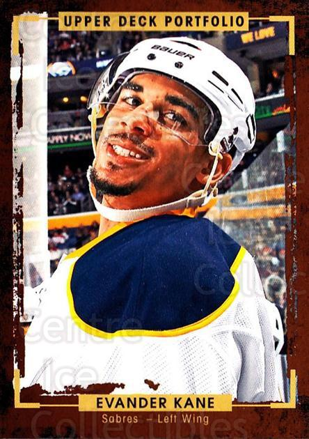 2015-16 Upper Deck Portfolio #149 Evander Kane<br/>5 In Stock - $1.00 each - <a href=https://centericecollectibles.foxycart.com/cart?name=2015-16%20Upper%20Deck%20Portfolio%20%23149%20Evander%20Kane...&quantity_max=5&price=$1.00&code=705023 class=foxycart> Buy it now! </a>