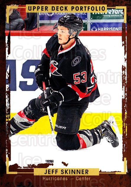 2015-16 Upper Deck Portfolio #156 Jeff Skinner<br/>4 In Stock - $1.00 each - <a href=https://centericecollectibles.foxycart.com/cart?name=2015-16%20Upper%20Deck%20Portfolio%20%23156%20Jeff%20Skinner...&quantity_max=4&price=$1.00&code=705030 class=foxycart> Buy it now! </a>