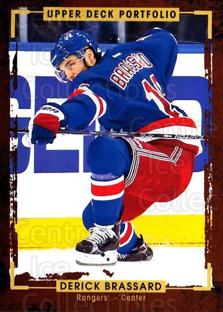 2015-16 Upper Deck Portfolio #172 Derick Brassard<br/>5 In Stock - $1.00 each - <a href=https://centericecollectibles.foxycart.com/cart?name=2015-16%20Upper%20Deck%20Portfolio%20%23172%20Derick%20Brassard...&quantity_max=5&price=$1.00&code=705046 class=foxycart> Buy it now! </a>