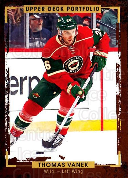 2015-16 Upper Deck Portfolio #177 Thomas Vanek<br/>5 In Stock - $1.00 each - <a href=https://centericecollectibles.foxycart.com/cart?name=2015-16%20Upper%20Deck%20Portfolio%20%23177%20Thomas%20Vanek...&quantity_max=5&price=$1.00&code=705051 class=foxycart> Buy it now! </a>
