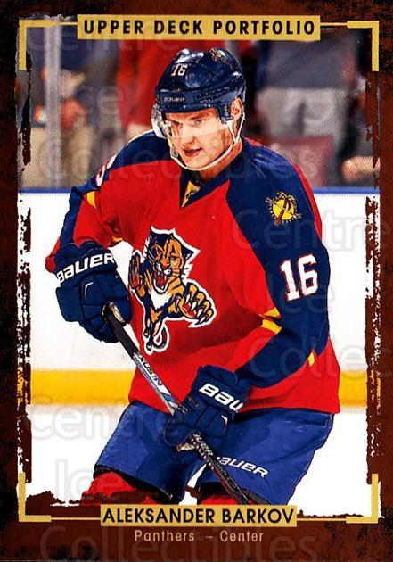2015-16 Upper Deck Portfolio #180 Aleksander Barkov<br/>5 In Stock - $1.00 each - <a href=https://centericecollectibles.foxycart.com/cart?name=2015-16%20Upper%20Deck%20Portfolio%20%23180%20Aleksander%20Bark...&quantity_max=5&price=$1.00&code=705054 class=foxycart> Buy it now! </a>