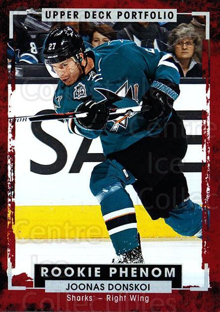 2015-16 Upper Deck Portfolio #208 Joonas Donskoi<br/>6 In Stock - $3.00 each - <a href=https://centericecollectibles.foxycart.com/cart?name=2015-16%20Upper%20Deck%20Portfolio%20%23208%20Joonas%20Donskoi...&quantity_max=6&price=$3.00&code=705082 class=foxycart> Buy it now! </a>
