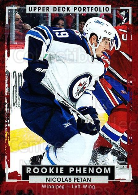 2015-16 Upper Deck Portfolio #233 Nicolas Petan<br/>3 In Stock - $3.00 each - <a href=https://centericecollectibles.foxycart.com/cart?name=2015-16%20Upper%20Deck%20Portfolio%20%23233%20Nicolas%20Petan...&quantity_max=3&price=$3.00&code=705107 class=foxycart> Buy it now! </a>