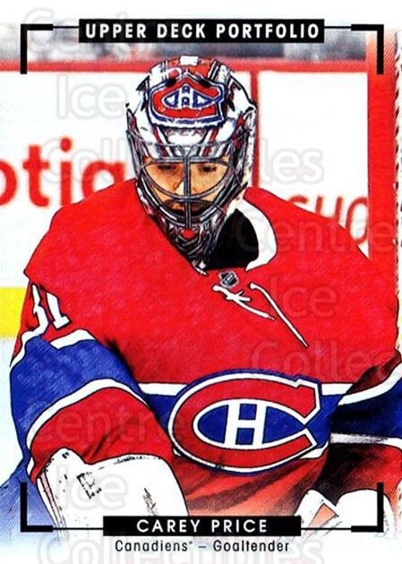 2015-16 Upper Deck Portfolio #271 Carey Price<br/>5 In Stock - $5.00 each - <a href=https://centericecollectibles.foxycart.com/cart?name=2015-16%20Upper%20Deck%20Portfolio%20%23271%20Carey%20Price...&quantity_max=5&price=$5.00&code=705145 class=foxycart> Buy it now! </a>