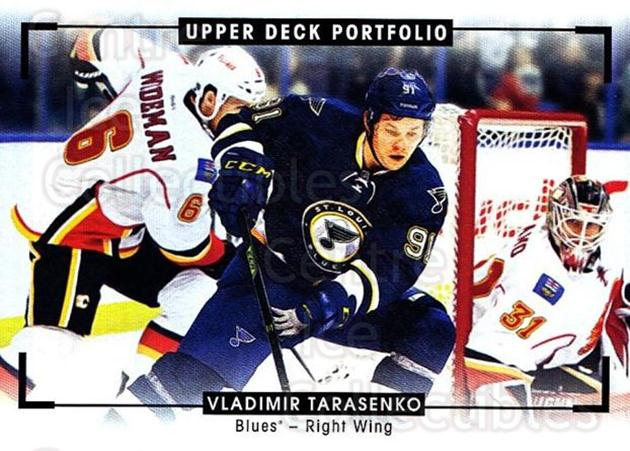 2015-16 Upper Deck Portfolio #284 Vladimir Tarasenko<br/>1 In Stock - $3.00 each - <a href=https://centericecollectibles.foxycart.com/cart?name=2015-16%20Upper%20Deck%20Portfolio%20%23284%20Vladimir%20Tarase...&quantity_max=1&price=$3.00&code=705158 class=foxycart> Buy it now! </a>