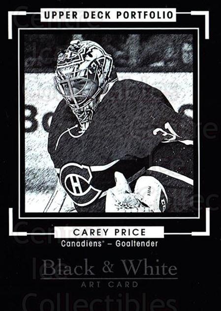 2015-16 Upper Deck Portfolio #293 Carey Price<br/>1 In Stock - $10.00 each - <a href=https://centericecollectibles.foxycart.com/cart?name=2015-16%20Upper%20Deck%20Portfolio%20%23293%20Carey%20Price...&price=$10.00&code=705167 class=foxycart> Buy it now! </a>