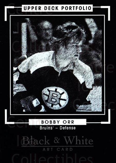 2015-16 Upper Deck Portfolio #295 Bobby Orr<br/>1 In Stock - $10.00 each - <a href=https://centericecollectibles.foxycart.com/cart?name=2015-16%20Upper%20Deck%20Portfolio%20%23295%20Bobby%20Orr...&price=$10.00&code=705169 class=foxycart> Buy it now! </a>