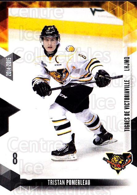 2014-15 Victoriaville Tigres #3 Tristan Pomerleau<br/>1 In Stock - $3.00 each - <a href=https://centericecollectibles.foxycart.com/cart?name=2014-15%20Victoriaville%20Tigres%20%233%20Tristan%20Pomerle...&quantity_max=1&price=$3.00&code=705315 class=foxycart> Buy it now! </a>