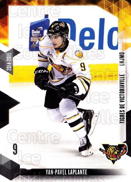 2014-15 Victoriaville Tigres #4 Yan-Pavel Laplante<br/>1 In Stock - $3.00 each - <a href=https://centericecollectibles.foxycart.com/cart?name=2014-15%20Victoriaville%20Tigres%20%234%20Yan-Pavel%20Lapla...&quantity_max=1&price=$3.00&code=705316 class=foxycart> Buy it now! </a>