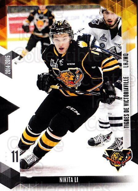 2014-15 Victoriaville Tigres #5 Nikita Li<br/>1 In Stock - $3.00 each - <a href=https://centericecollectibles.foxycart.com/cart?name=2014-15%20Victoriaville%20Tigres%20%235%20Nikita%20Li...&quantity_max=1&price=$3.00&code=705317 class=foxycart> Buy it now! </a>