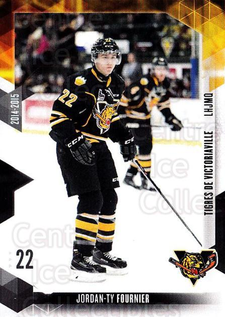 2014-15 Victoriaville Tigres #13 Jordan-Ty Fournier<br/>1 In Stock - $3.00 each - <a href=https://centericecollectibles.foxycart.com/cart?name=2014-15%20Victoriaville%20Tigres%20%2313%20Jordan-Ty%20Fourn...&quantity_max=1&price=$3.00&code=705325 class=foxycart> Buy it now! </a>