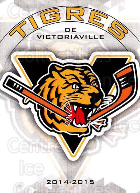 2014-15 Victoriaville Tigres #24 Header Card, Checklist<br/>1 In Stock - $3.00 each - <a href=https://centericecollectibles.foxycart.com/cart?name=2014-15%20Victoriaville%20Tigres%20%2324%20Header%20Card,%20Ch...&quantity_max=1&price=$3.00&code=705336 class=foxycart> Buy it now! </a>