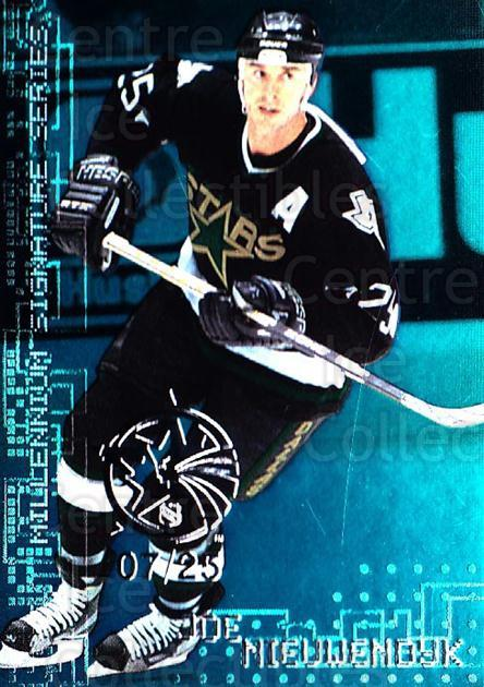 1999-00 BAP Millennium AS Game Emerald #78 Joe Nieuwendyk<br/>1 In Stock - $10.00 each - <a href=https://centericecollectibles.foxycart.com/cart?name=1999-00%20BAP%20Millennium%20AS%20Game%20Emerald%20%2378%20Joe%20Nieuwendyk...&quantity_max=1&price=$10.00&code=705478 class=foxycart> Buy it now! </a>