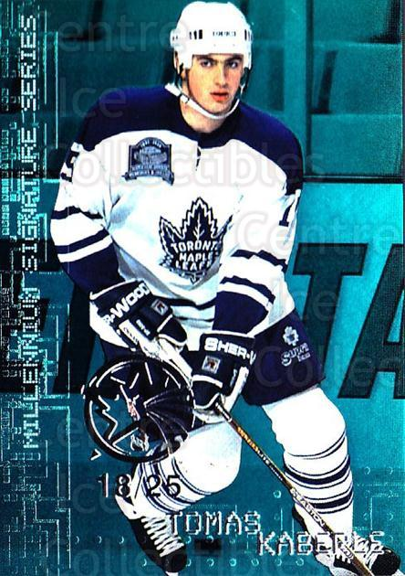1999-00 BAP Millennium AS Game Emerald #230 Tomas Kaberle<br/>1 In Stock - $10.00 each - <a href=https://centericecollectibles.foxycart.com/cart?name=1999-00%20BAP%20Millennium%20AS%20Game%20Emerald%20%23230%20Tomas%20Kaberle...&quantity_max=1&price=$10.00&code=705588 class=foxycart> Buy it now! </a>