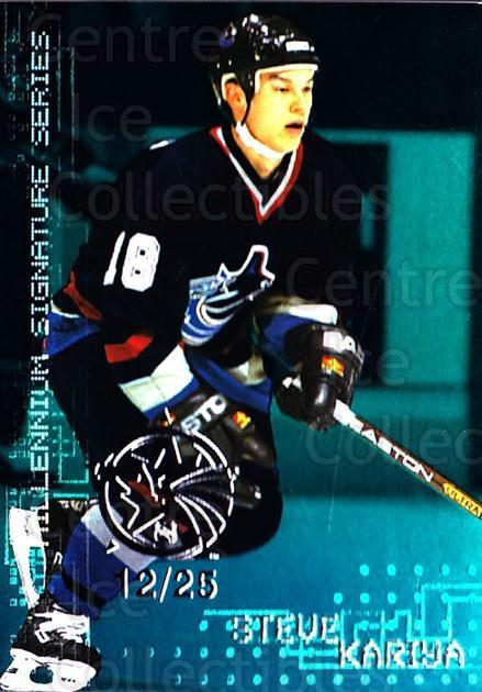 1999-00 BAP Millennium AS Game Emerald #241 Steve Kariya<br/>1 In Stock - $10.00 each - <a href=https://centericecollectibles.foxycart.com/cart?name=1999-00%20BAP%20Millennium%20AS%20Game%20Emerald%20%23241%20Steve%20Kariya...&quantity_max=1&price=$10.00&code=705600 class=foxycart> Buy it now! </a>
