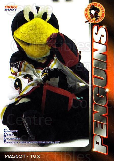2000-01 Wilkes-Barre Scranton Penguins #28 Mascot<br/>4 In Stock - $3.00 each - <a href=https://centericecollectibles.foxycart.com/cart?name=2000-01%20Wilkes-Barre%20Scranton%20Penguins%20%2328%20Mascot...&quantity_max=4&price=$3.00&code=705939 class=foxycart> Buy it now! </a>
